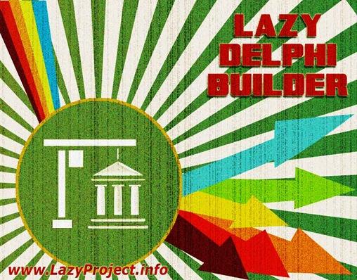 Рекламный постер Lazy Delphi Builder