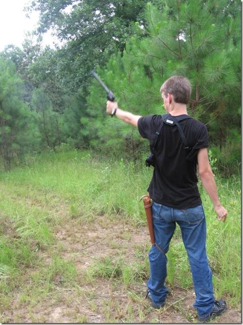 jacob shooting grandpa's gun