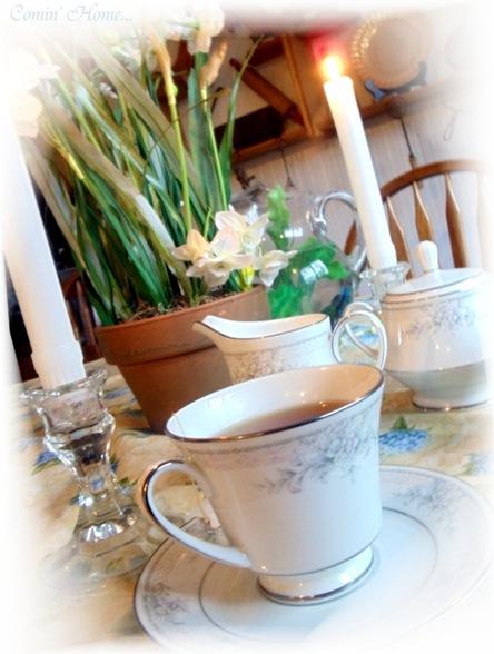 time for tea portrait