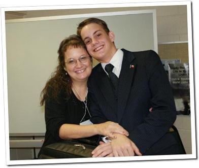 Jacob & Mom regionals