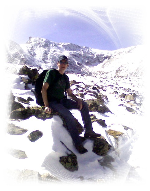 Tim on Pawnee Pass