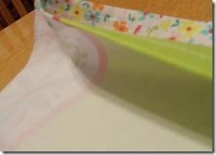 2 dishcloths sewn end to end