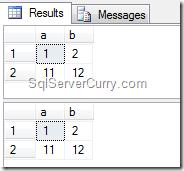SQL Server MINUS