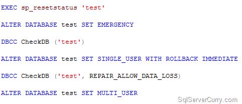 repairdatabase