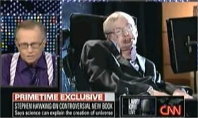 Larry King, Stephen Hawking