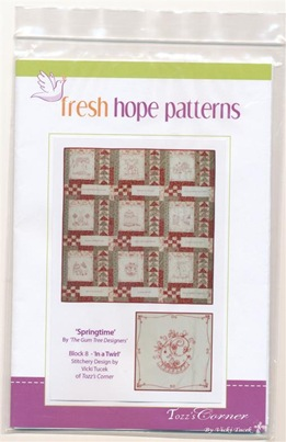 Springtime Pattern Block 8 - Vicki Tucek (Medium)