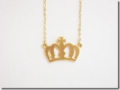 Colar Real Dourada
