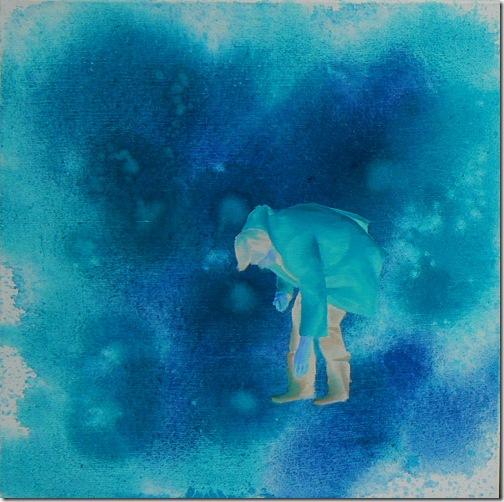 Joanna Pawlik,bez tytułu  2, 40x 40 cm, olej na płótnie, 2007