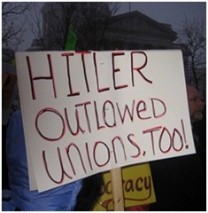 Hitler outlawed unions too
