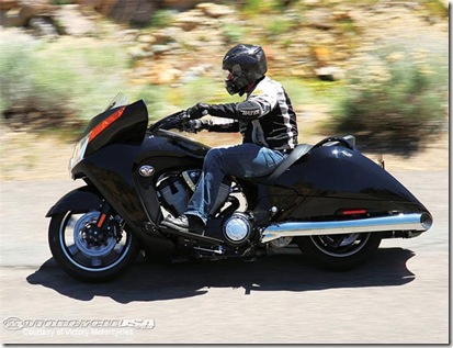 2011 Victory Vision 8-Ball First Ride Photo Gallery v