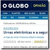 Jornal O Globo 1