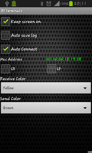 Bluetooth Terminal 2 - screenshot