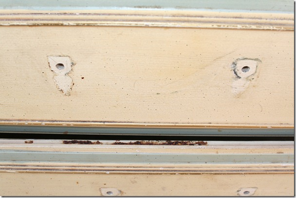 cleaning, prepping, and sanding antique dresser (14)