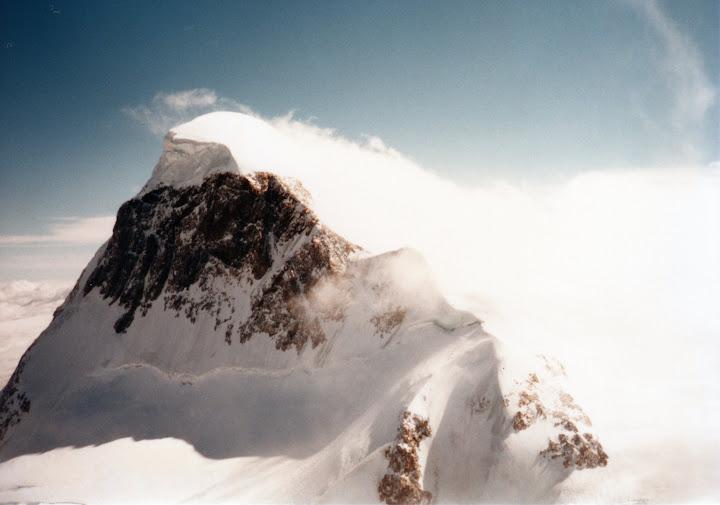 クラインマッターホルンから見たブライトホルン
