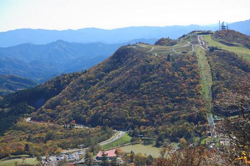 萩太郎山の紅葉の写真