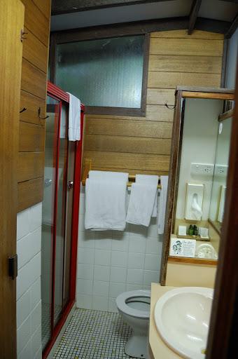 ビナブラマウンテンロッジの洗面所の写真
