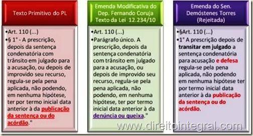 lei-12234-2010-codigo-penal-art-110-paragrafo-1-texto-primitivo-do-projeto-e-emendas