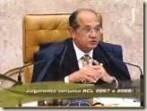 Ministro Gilmar Mendes, do STF. Possibilidade de Revisão dos Critérios de Cálculo após a expedição de precatório complementar. Voto Vencido.