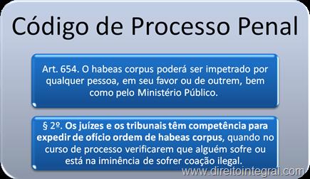 Artigo 654, §2º do Código de Processo Penal