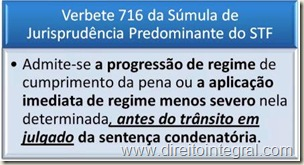 sumula-716-stf-progressao-regime-transito-julgado-execucao-provisoria