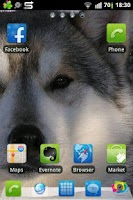 Screenshot of Go Launcher EX Husky Theme