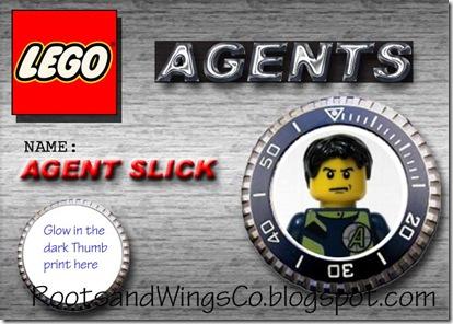 Lego Agent Badge