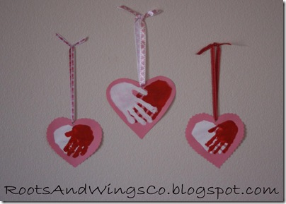 valentine heart handprint 5
