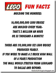 Lego Fun Facts 1