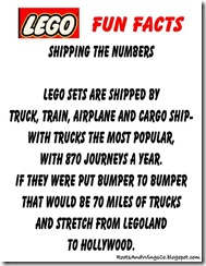 Lego Fun Facts 3