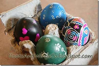 RootsAndWingsCo Pysanky Or Grown Up Easter Egg Decorating