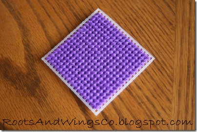 Stitched Canvas Infant Blocks 8