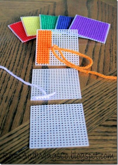 Stitched Canvas Infant Blocks 11