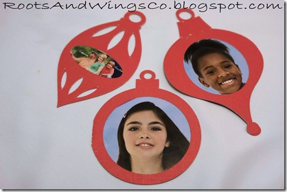 christmas photo ornament c