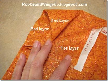 T 1 fold fabric