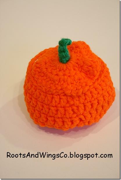 crochet a pumpkin