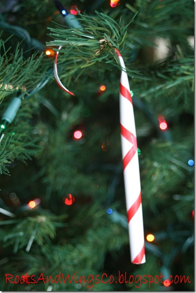 candy cane christmas paper