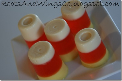 candy corn jello a