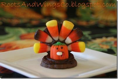 thanksgiving turkey cookie d