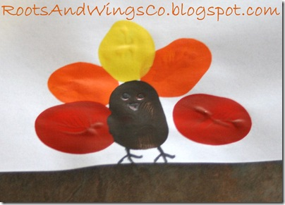 thanksgiving finger painting preschool activity a