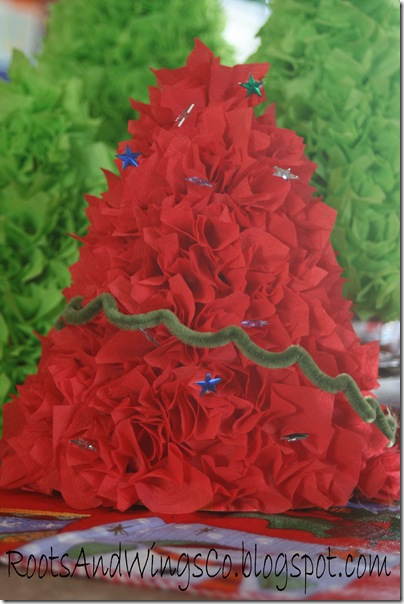 party hat christmas tree a