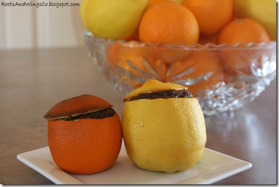 orange lemon cakes a