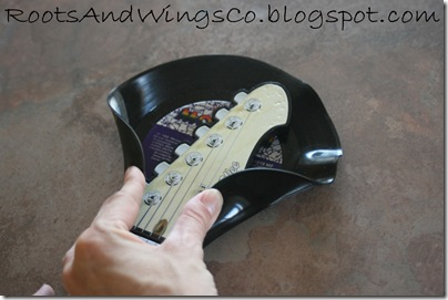 vinyl record guitar holder music room b