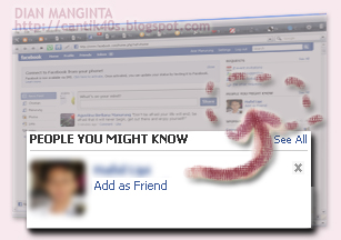 Lihat facebookku yuk?