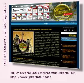 Jalan-jalan ke Jakarta Fair 2009