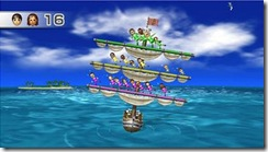 Wii party boat