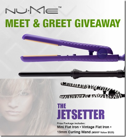 NuMe Jetsetter Giveaway