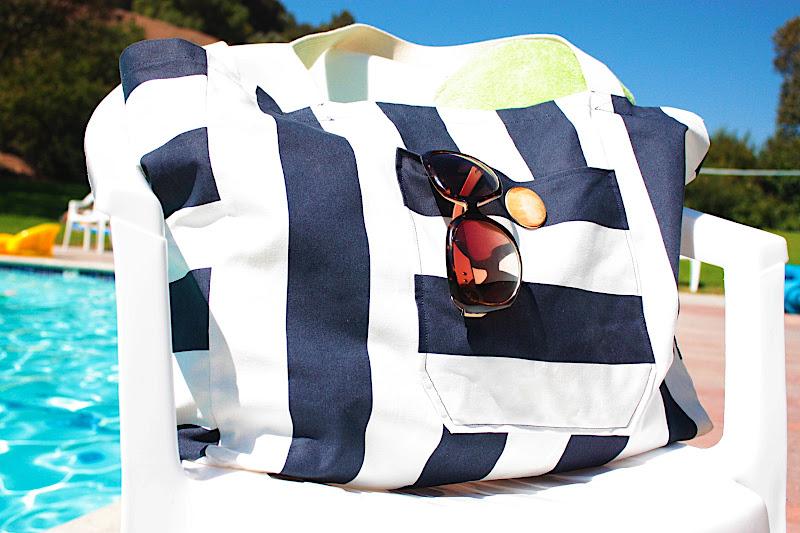 Большая пляжная сумка