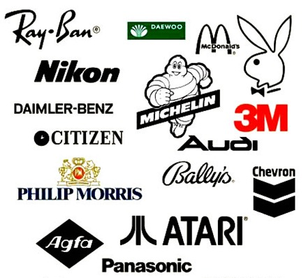 logotipos en curvas