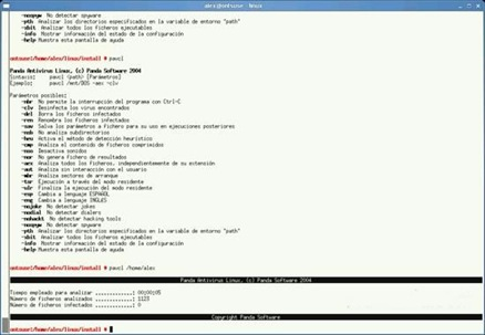 Panda Antivirus Linux
