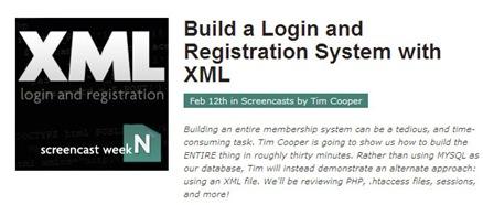 xml registro